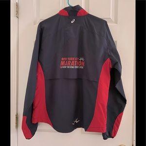 New York City Marathon ASICS jacket windbreaker
